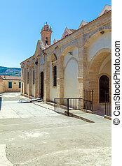 著名, omodos, 修道院, 在, 塞浦路斯