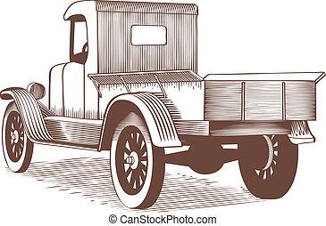 葡萄收获期, 卡车