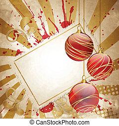 葡萄收获期, 圣诞节, 红