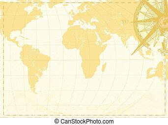 葡萄收获期, 词汇, 地图