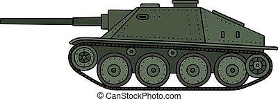 葡萄酒, 坦克, 驅逐艦