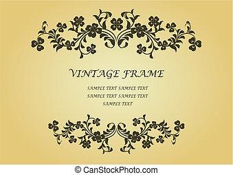 葡萄酒, 框架, 三葉草