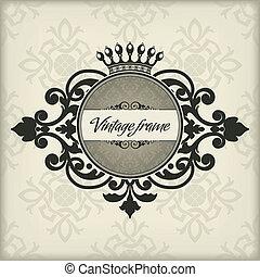 葡萄酒, 框架, 王冠