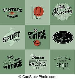 葡萄酒 汽車, 參加比賽, 徽章