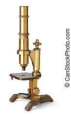 葡萄酒, 黃銅, 顯微鏡