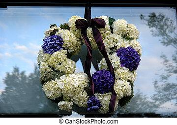 葬式, 花輪