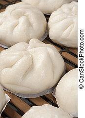 蒸された, ロールパン, 中国語
