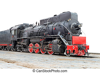 蒸気の 列車