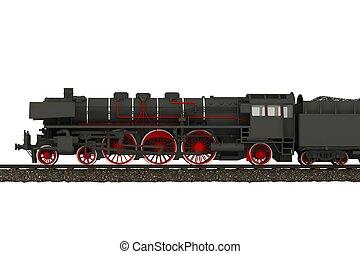 蒸汽火車, 機車