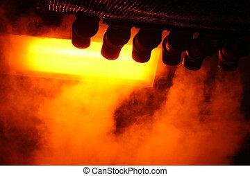 蒸汽, 從, 管子, 摘要