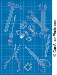 蓝图, -, 工具