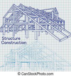 蓝图, 建筑师