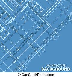 蓝图, 模型, 建筑学, 最好