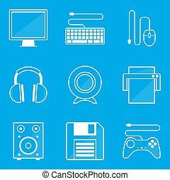 蓝图, set., 计算机图标