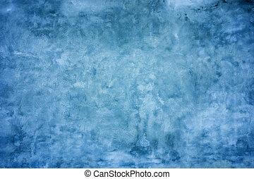 蓝的墙壁, 水泥