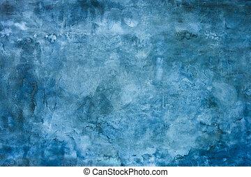蓝的墙壁, 结构