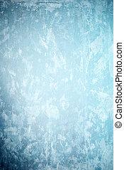 蓝的墙壁, 背景