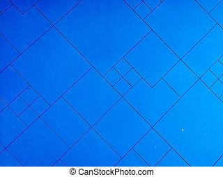蓝的墙壁, texture., 背景