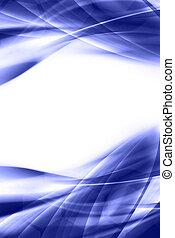 蓝的背景, 摘要