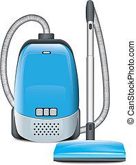 蓝色, 吸尘器
