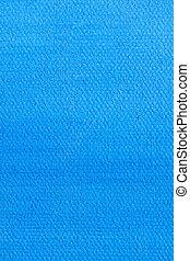 蓝色, 帆布