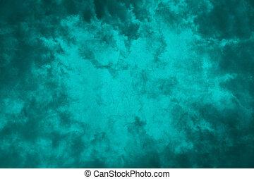 蓝色, 摘要, grunge, 水鸭, 背景