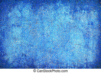 蓝色, 摘要, grunge, 结构, 背景