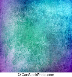 蓝色, 摘要, grunge, 背景, 结构