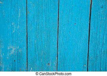 蓝色, 木制, 背景