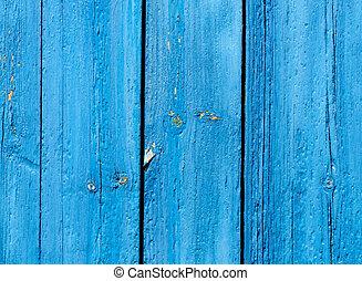 蓝色, 木制, grunge, 背景