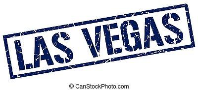 蓝色, 邮票, vegas, 广场, las
