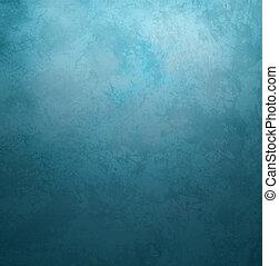蓝色, 风格, 老, 葡萄收获期, 黑暗, 纸, retro, 背景, grunge