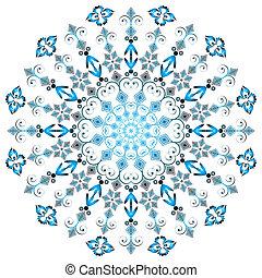 蔓藤花紋, 輪, 框架