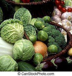 蔬菜, 仍然生活