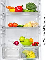 蔬菜, 冰箱