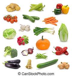 蔬菜, 收集