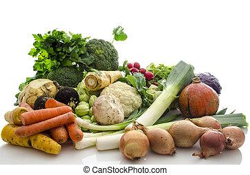 蔬菜, 有机