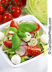 蔬菜, 沙拉