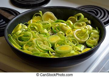 蔬菜, 韭蔥