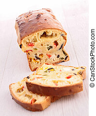 蔬菜, bread