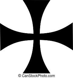 薄くなりなさい, 鉄の十字架
