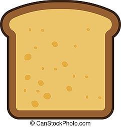 薄く切られた パン, アイコン