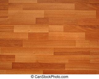 薄板にされる, 床材