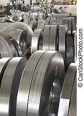 薄板金, 回転する, 錫, 生産, ホール