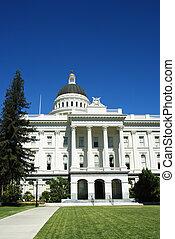 薩克拉門托, 州議會大廈, 建筑物。