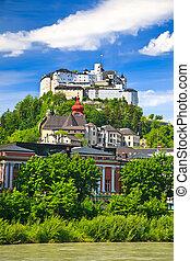薩爾茨堡,  hohensalzburg, 要塞