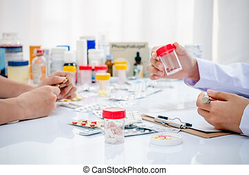 薬剤師, 労働者のオフィス
