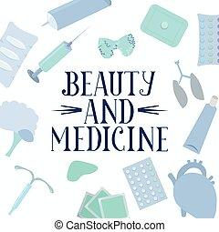 薬物, treatment., text., poster., 薬剤, 医学
