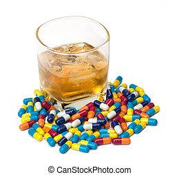 薬, アルコール