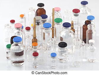薬, ガラスびん